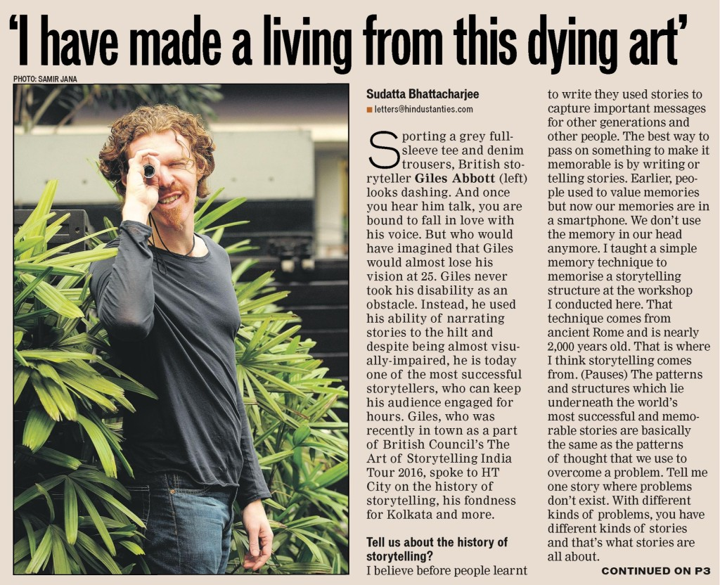 Hindustan Times Page 1