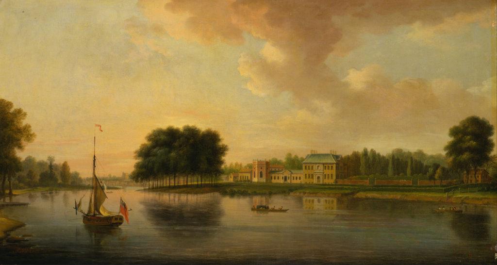 Orleans House, Twickenham by Joseph Nickolls (1689 - 1789)